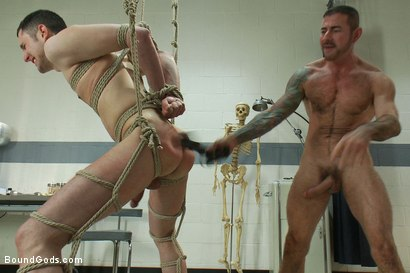 Photo number 10 from A young private endures a brutal Army physical shot for Bound Gods on Kink.com. Featuring Nick Moretti and Jeof Pierson in hardcore BDSM & Fetish porn.