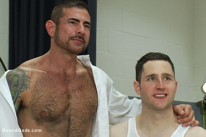 Photo number 15 from A young private endures a brutal Army physical shot for Bound Gods on Kink.com. Featuring Nick Moretti and Jeof Pierson in hardcore BDSM & Fetish porn.