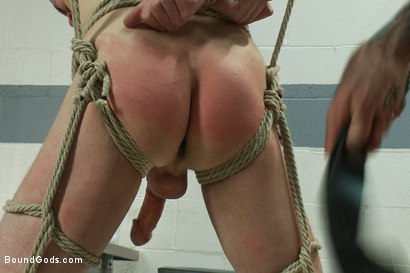 Photo number 11 from A young private endures a brutal Army physical shot for Bound Gods on Kink.com. Featuring Nick Moretti and Jeof Pierson in hardcore BDSM & Fetish porn.