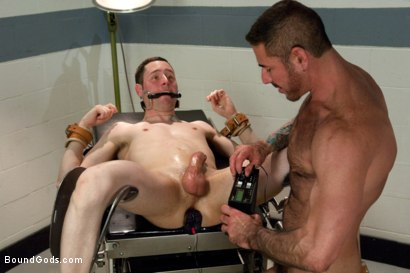 Photo number 8 from A young private endures a brutal Army physical shot for Bound Gods on Kink.com. Featuring Nick Moretti and Jeof Pierson in hardcore BDSM & Fetish porn.