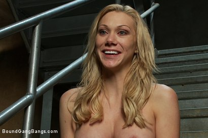 Photo number 15 from Sexy Blonde Prison Warden with Big Tits gets Gangbanged by Horny Inmates shot for Bound Gang Bangs on Kink.com. Featuring Samantha Sin in hardcore BDSM & Fetish porn.
