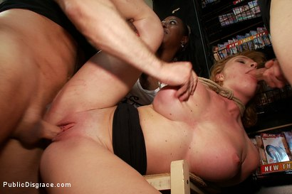 Photo number 5 from In Over Her Head: Agressive Public Sex  shot for Public Disgrace on Kink.com. Featuring John Strong and Krissy Lynn in hardcore BDSM & Fetish porn.