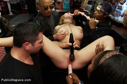 Photo number 9 from In Over Her Head: Agressive Public Sex  shot for Public Disgrace on Kink.com. Featuring John Strong and Krissy Lynn in hardcore BDSM & Fetish porn.