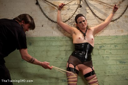 Photo number 10 from Sophie Monroe aka dolly meats<br>Day 1-Buried Alive, Humiliated, and Tormented shot for The Training Of O on Kink.com. Featuring Sophie Monroe in hardcore BDSM & Fetish porn.