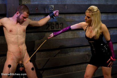 "Photo number 2 from Corrupting Choirboy Episode 2 ""Pleasure Ashley's Pussy"" shot for Divine Bitches on Kink.com. Featuring Ashley Fires and Jesse Carl in hardcore BDSM & Fetish porn."