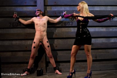"Photo number 6 from Corrupting Choirboy Episode 2 ""Pleasure Ashley's Pussy"" shot for Divine Bitches on Kink.com. Featuring Ashley Fires and Jesse Carl in hardcore BDSM & Fetish porn."
