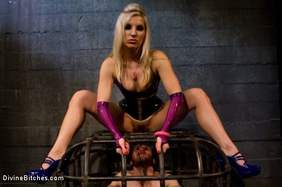 "Photo number 5 from Corrupting Choirboy Episode 2 ""Pleasure Ashley's Pussy"" shot for Divine Bitches on Kink.com. Featuring Ashley Fires and Jesse Carl in hardcore BDSM & Fetish porn."