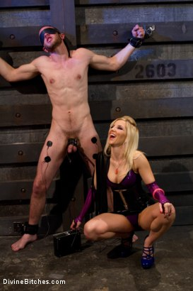 "Photo number 1 from Corrupting Choirboy Episode 2 ""Pleasure Ashley's Pussy"" shot for Divine Bitches on Kink.com. Featuring Ashley Fires and Jesse Carl in hardcore BDSM & Fetish porn."