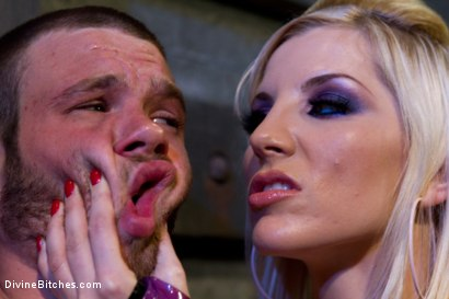 "Photo number 4 from Corrupting Choirboy Episode 2 ""Pleasure Ashley's Pussy"" shot for Divine Bitches on Kink.com. Featuring Ashley Fires and Jesse Carl in hardcore BDSM & Fetish porn."