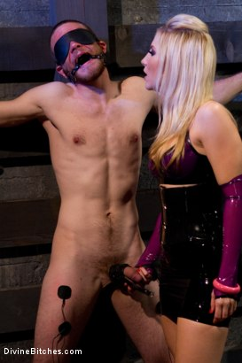 "Photo number 11 from Corrupting Choirboy Episode 2 ""Pleasure Ashley's Pussy"" shot for Divine Bitches on Kink.com. Featuring Ashley Fires and Jesse Carl in hardcore BDSM & Fetish porn."