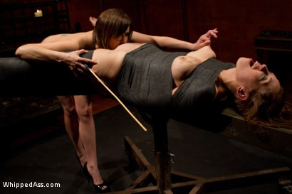 Photo number 7 from Adorable math major takes a break from abstract alegbra to be brutally fucked by Maitresse Madeline! shot for Whipped Ass on Kink.com. Featuring Audrey Rose and Maitresse Madeline Marlowe in hardcore BDSM & Fetish porn.