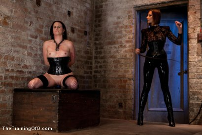 Photo number 5 from Day 3 - dolly meats   Princess Donna and Maitresse Madeline Take Their Turn shot for The Training Of O on Kink.com. Featuring Sophie Monroe, Princess Donna Dolore and Maitresse Madeline Marlowe in hardcore BDSM & Fetish porn.