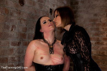 Photo number 1 from Day 3 - dolly meats<br>Princess Donna and Maitresse Madeline Take Their Turn shot for The Training Of O on Kink.com. Featuring Sophie Monroe, Princess Donna Dolore and Maitresse Madeline Marlowe in hardcore BDSM & Fetish porn.