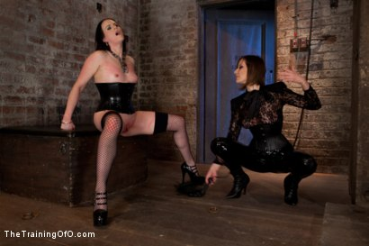 Photo number 4 from Day 3 - dolly meats<br>Princess Donna and Maitresse Madeline Take Their Turn shot for The Training Of O on Kink.com. Featuring Sophie Monroe, Princess Donna Dolore and Maitresse Madeline Marlowe in hardcore BDSM & Fetish porn.