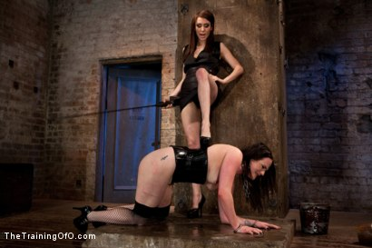 Photo number 7 from Day 3 - dolly meats<br>Princess Donna and Maitresse Madeline Take Their Turn shot for The Training Of O on Kink.com. Featuring Sophie Monroe, Princess Donna Dolore and Maitresse Madeline Marlowe in hardcore BDSM & Fetish porn.