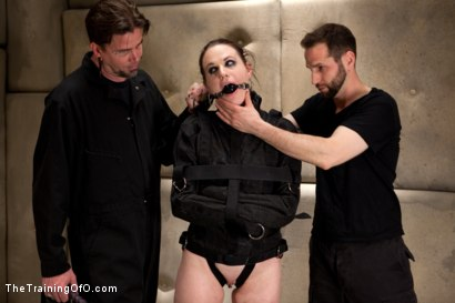 Photo number 2 from Sophie Monroe Day 5<br>Sexual Training The Hard Way shot for The Training Of O on Kink.com. Featuring Sophie Monroe and Maestro in hardcore BDSM & Fetish porn.