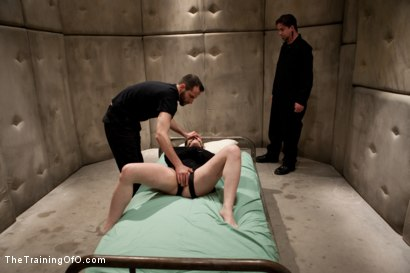 Photo number 4 from Sophie Monroe Day 5<br>Sexual Training The Hard Way shot for The Training Of O on Kink.com. Featuring Sophie Monroe and Maestro in hardcore BDSM & Fetish porn.