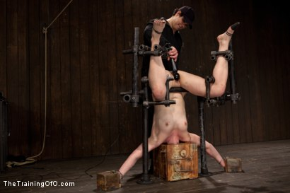 Photo number 14 from Sophie Monroe Day 4   Endurance and Predicament Testing With Some Help From Orlando shot for The Training Of O on Kink.com. Featuring Sophie Monroe in hardcore BDSM & Fetish porn.