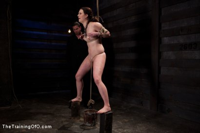 Photo number 15 from Sophie Monroe Day 4   Endurance and Predicament Testing With Some Help From Orlando shot for The Training Of O on Kink.com. Featuring Sophie Monroe in hardcore BDSM & Fetish porn.