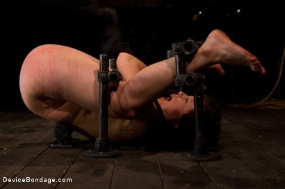 Photo number 13 from Booty is rotund - an ass to take and break shot for Device Bondage on Kink.com. Featuring Tina Horn in hardcore BDSM & Fetish porn.