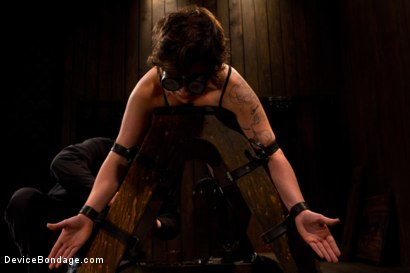 Photo number 9 from Booty is rotund - an ass to take and break shot for Device Bondage on Kink.com. Featuring Tina Horn in hardcore BDSM & Fetish porn.
