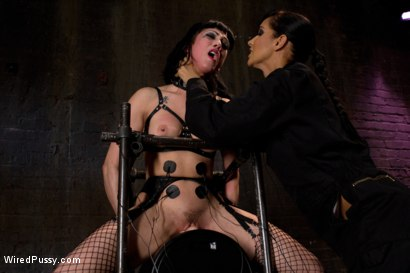 Photo number 11 from Beautiful Fetish Model Tied up and Dominated by Isis Love shot for Wired Pussy on Kink.com. Featuring Isis Love and Asphyxia Noir in hardcore BDSM & Fetish porn.