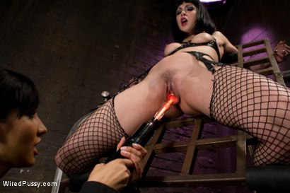 Photo number 2 from Beautiful Fetish Model Tied up and Dominated by Isis Love shot for Wired Pussy on Kink.com. Featuring Isis Love and Asphyxia Noir in hardcore BDSM & Fetish porn.