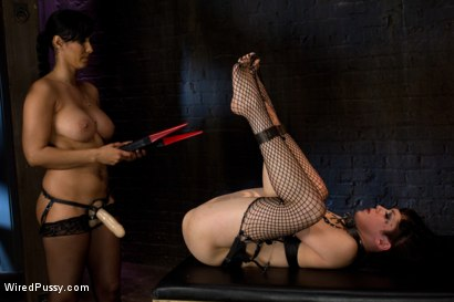 Photo number 14 from Beautiful Fetish Model Tied up and Dominated by Isis Love shot for Wired Pussy on Kink.com. Featuring Isis Love and Asphyxia Noir in hardcore BDSM & Fetish porn.