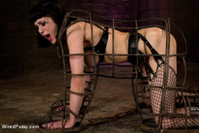 Photo number 8 from Beautiful Fetish Model Tied up and Dominated by Isis Love shot for Wired Pussy on Kink.com. Featuring Isis Love and Asphyxia Noir in hardcore BDSM & Fetish porn.