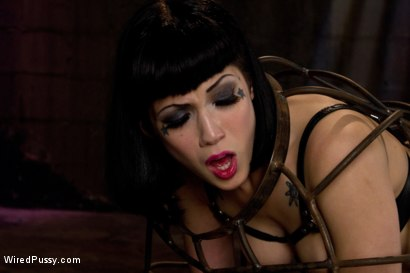 Photo number 6 from Beautiful Fetish Model Tied up and Dominated by Isis Love shot for Wired Pussy on Kink.com. Featuring Isis Love and Asphyxia Noir in hardcore BDSM & Fetish porn.