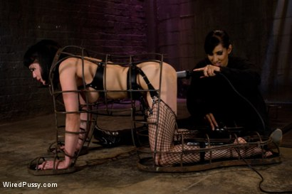 Photo number 9 from Beautiful Fetish Model Tied up and Dominated by Isis Love shot for Wired Pussy on Kink.com. Featuring Isis Love and Asphyxia Noir in hardcore BDSM & Fetish porn.