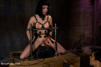 Photo number 10 from Beautiful Fetish Model Tied up and Dominated by Isis Love shot for Wired Pussy on Kink.com. Featuring Isis Love and Asphyxia Noir in hardcore BDSM & Fetish porn.