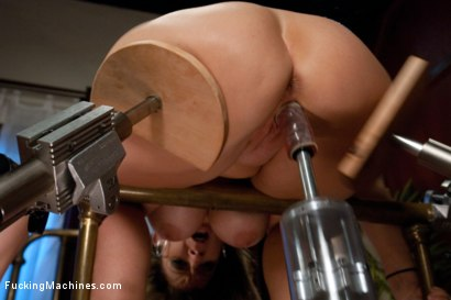 Photo number 12 from An Ass That You Want to Bury Your Face In <br> A Pussy That Swallows Cock shot for Fucking Machines on Kink.com. Featuring Sara Jay in hardcore BDSM & Fetish porn.