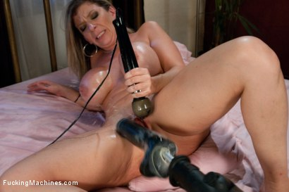 Photo number 4 from An Ass That You Want to Bury Your Face In <br> A Pussy That Swallows Cock shot for Fucking Machines on Kink.com. Featuring Sara Jay in hardcore BDSM & Fetish porn.