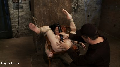 Photo number 6 from Most incredible foot caning scene ever done   You have never seen anything like this, we promise. shot for Hogtied on Kink.com. Featuring Scarlet Faux in hardcore BDSM & Fetish porn.