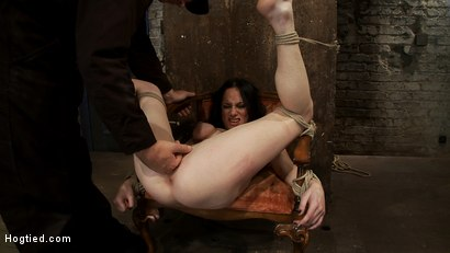 Photo number 7 from Most incredible foot caning scene ever done   You have never seen anything like this, we promise. shot for Hogtied on Kink.com. Featuring Scarlet Faux in hardcore BDSM & Fetish porn.