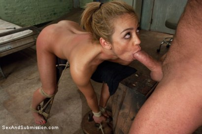 Photo number 6 from Beautiful Suffering shot for Sex And Submission on Kink.com. Featuring Mark Davis and Mia Lelani in hardcore BDSM & Fetish porn.