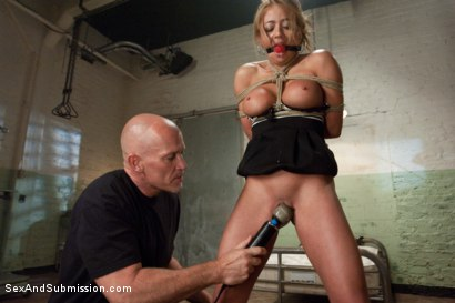 Photo number 3 from Beautiful Suffering shot for Sex And Submission on Kink.com. Featuring Mark Davis and Mia Lelani in hardcore BDSM & Fetish porn.