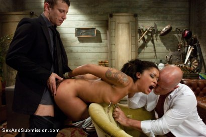 Photo number 7 from The Loan Sharks shot for Sex And Submission on Kink.com. Featuring Mr. Pete, Skin Diamond and Mark Davis in hardcore BDSM & Fetish porn.
