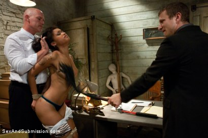 Photo number 3 from The Loan Sharks shot for Sex And Submission on Kink.com. Featuring Mr. Pete, Skin Diamond and Mark Davis in hardcore BDSM & Fetish porn.