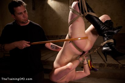 Photo number 6 from dolly meats Day 2   Interrogation, OTK, & an Intense Suspension shot for The Training Of O on Kink.com. Featuring Sophie Monroe in hardcore BDSM & Fetish porn.