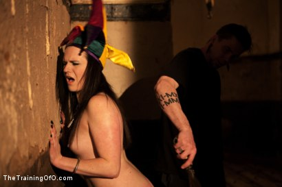 Photo number 9 from dolly meats Day 2<br>Interrogation, OTK, & an Intense Suspension shot for The Training Of O on Kink.com. Featuring Sophie Monroe in hardcore BDSM & Fetish porn.