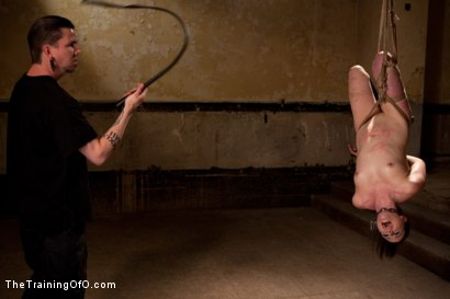 Photo number 15 from dolly meats Day 2<br>Interrogation, OTK, & an Intense Suspension shot for The Training Of O on Kink.com. Featuring Sophie Monroe in hardcore BDSM & Fetish porn.