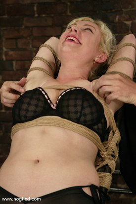 Photo number 1 from Adrianna Nicole and Torque shot for Hogtied on Kink.com. Featuring Adrianna Nicole and Torque in hardcore BDSM & Fetish porn.