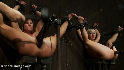 Photo number 13 from Ass fucked by machine, Ass fucked by mallet shot for Device Bondage on Kink.com. Featuring Ariel X and Cherry Torn in hardcore BDSM & Fetish porn.
