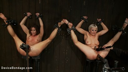 Photo number 8 from Ass fucked by machine, Ass fucked by mallet shot for Device Bondage on Kink.com. Featuring Ariel X and Cherry Torn in hardcore BDSM & Fetish porn.