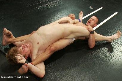 Photo number 5 from Nikko Alexander vs Noah Brooks shot for Naked Kombat on Kink.com. Featuring Chris Tyler and Noah Brooks in hardcore BDSM & Fetish porn.