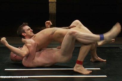 Photo number 6 from Phenix Saint vs Blake Daniels shot for Naked Kombat on Kink.com. Featuring Blake Daniels and Phenix Saint in hardcore BDSM & Fetish porn.