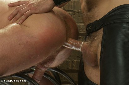 Photo number 13 from Master Avery and the new muscle slave shot for Bound Gods on Kink.com. Featuring Master Avery and Ethan Hudson in hardcore BDSM & Fetish porn.