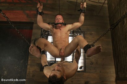 Photo number 14 from Master Avery and the new muscle slave shot for Bound Gods on Kink.com. Featuring Master Avery and Ethan Hudson in hardcore BDSM & Fetish porn.